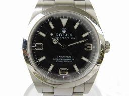 ROLEX ロレックス エクスプローラー1  ウォッチ 時計 214270 シルバー ステンレススチール(SS)