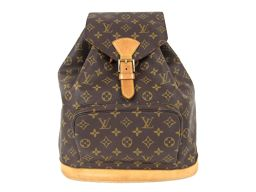 LOUIS VUITTON ルイヴィトン モンスリ リュックサック バックパック M51135 モノグラム モノグ