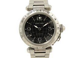 Cartier カルティエ パシャC メリディアン 腕時計 ウォッチ W31079M7 ブラック ステンレススチー