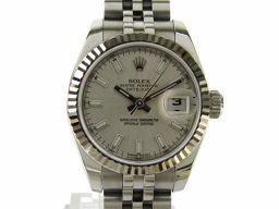 ROLEX ロレックス デイトジャスト ウォッチ 時計 179174 G番 シルバー K18WG(750)ホワイト
