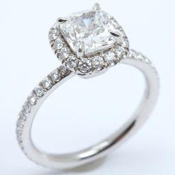 HARRY WINSTON ハリーウィンストン ダイヤモンド リング 指輪 クリアー PT950 プラチナ  x