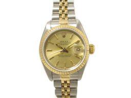 ROLEX ロレックス デイトジャスト 腕時計 ウォッチ 69173 ゴールド ステンレススチール(SS) ×K1