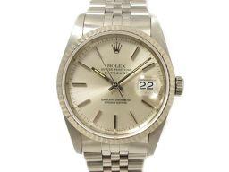 ROLEX ロレックス デイトジャスト 腕時計 ウォッチ 16234 シルバー ステンレススチール(SS) ×K1