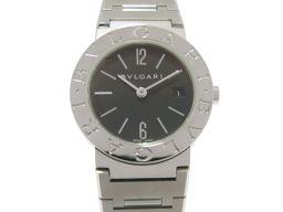 BVLGARI ブルガリ ブルガリ ブルガリ 腕時計 ウォッチ BB26SS ブラック ステンレススチール(SS)