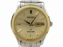 SEIKO セイコー グランドセイコー ウォッチ 腕時計 SBGT0049F839A2 シルバー K18YG(75