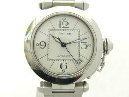 Cartier カルティエ パシャC ウォッチ 腕時計 2324 ホワイト ステンレススチール(SS) 【中古】【