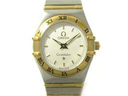 OMEGA オメガ コンステレーション ミニ ウォッチ 腕時計 レディース 1262.30 ホワイト ステンレスス