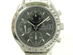 OMEGA オメガ スピードマスター デイト ウォッチ 腕時計 3513.50 ブラック ステンレススチール(SS