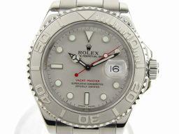 ROLEX ロレックス ヨットマスター ロレジウム 腕時計 ウォッチ 16622 Y番 シルバー ステンレススチー