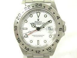 ROLEX ロレックス エクスプローラー2 腕時計 ウォッチ 16570 ホワイト ステンレススチール(SS) 【