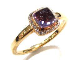 FRED フレッド パン ドゥ スクール スモールリング 指輪 ゴールド K18PG(750) ピンクゴールド ×