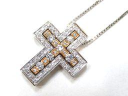 DAMIANI ダミアーニ ベルエポックダイヤモンド ネックレス シルバー K18WG(750) ホワイトゴールド