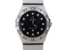 OMEGA オメガ コンステレーション 12Pダイヤモンド 腕時計 ウォッチ 123.10.24.60.51.00