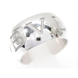 BVLGARI ブルガリ モノロゴリング 指輪 シルバー K18WG(750) ホワイトゴールド 【中古】【ランク