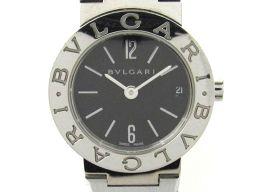 BVLGARI ブルガリ ブルガリ ブルガリ ウォッチ 腕時計 レディース BB23SS ブラック ステンレススチ
