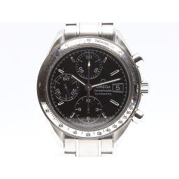 OMEGA オメガ スピードマスター ウォッチ 腕時計 メンズ 351350 ブラック ステンレススチール(SS)