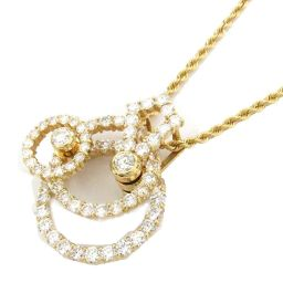 WALTHAM ウォルサム ダイヤモンド ネックレス クリアー K18YG(750) イエローゴールド  x ダイ