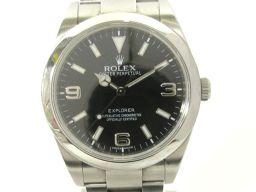 ROLEX ロレックス エクスプローラー 1 ウォッチ 腕時計 214270 シルバー ステンレススチール(SS)
