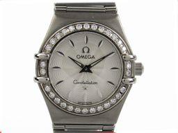 OMEGA オメガ コンステレーション ダイヤモンドベゼル ウォッチ 腕時計 シルバー ステンレススチール(SS)