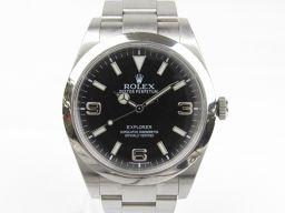 ROLEX ロレックス エクスプローラー1 ウォッチ 腕時計 214270 シルバー ステンレススチール(SS)