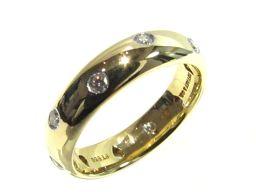TIFFANY&CO ティファニー ドッツリング 指輪 ゴールド K18YG(750) イエローゴールド xPT9