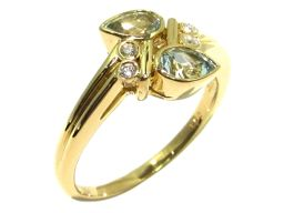 JEWELRY ジュエリー ブルートパーズ リング 指輪 ブルー 18KxBT0.54xD0.05ct 【中古】【