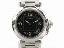 Cartier カルティエ パシャC スモールデイト ウォッチ 腕時計 W31076M7 シルバー ステンレススチ