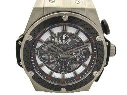 HUBLOT ウブロ キングパワー 鈴鹿 世界限定250本 スケルトン ウォッチ 腕時計 メンズ 710.ZM.1