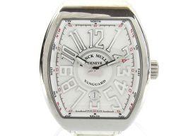 FRANCK MULLER フランク・ミュラー ヴァンガード ウォッチ 腕時計 メンズ V45 SCDT ホワイト
