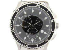 HAMILTON ハミルトン ジャズマスター ウォッチ 腕時計 メンズ H375120 ブラック ステンレススチー