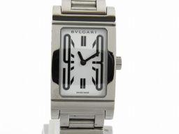 BVLGARI ブルガリ レッタンゴロ ウォッチ 腕時計 RT39S シルバー ステンレススチール(SS) 【中古