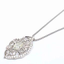 JEWELRY ジュエリー ダイヤモンド ネックレス クリアー PT900 プラチナ  x ダイヤモンド(1.00