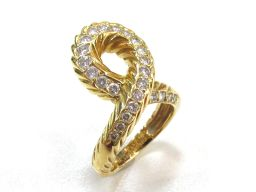 Van Cleef & Arpels ヴァンクリーフ&アーペル ダイヤモンド リング 指輪 ゴールド K18YG(