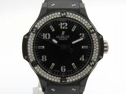 HUBLOT ウブロ ビッグバン ベゼルダイヤモンド ウォッチ 腕時計 361.CV.1270.RX.1104 ブ