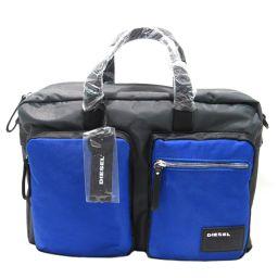 DIESEL ディーゼル ブリーフケース 2wayビジネスバッグ X03000P0409H5970 ブラック x