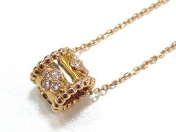 Van Cleef & Arpels ヴァンクリーフ&アーペル ペルレ ネックレス ダイヤモンド ゴールド K18
