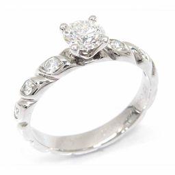CHAUMET ショーメ トルサードダイヤモンドリング 指輪 クリアー PT950 プラチナ xダイヤモンド(石目