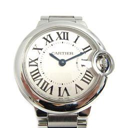 Cartier カルティエ バロンブルーSM 腕時計 ウォッチ W69010Z4 シルバー ステンレススチール(S