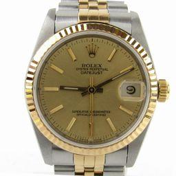 ROLEX ロレックス デイトジャスト ウォッチ 腕時計 68273 T番 ゴールド K18YG(750)イエロー
