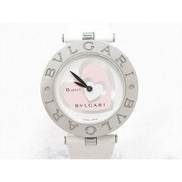 BVLGARI ブルガリ B-zero1 腕時計 ウォッチ BZ30S ホワイト ステンレススチール(SS) xレ