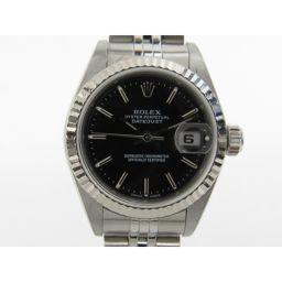 ROLEX ロレックス デイトジャスト ウォッチ 腕時計 79174 シルバー K18WG(750)ホワイトゴール