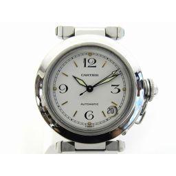 Cartier カルティエ パシャC ウォッチ 腕時計 シルバー ステンレススチール(SS) 【中古】【ランクA】