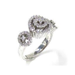 DAMIANI ダミアーニ ダイヤモンドリング 指輪 シルバー K18WG(750) ホワイトゴールド ×ダイヤモ
