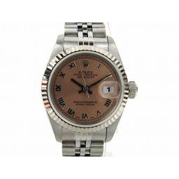 ROLEX ロレックス デイトジャスト ウォッチ 腕時計 69174 シルバー K18WG(750)ホワイトゴール