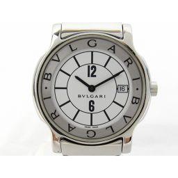 BVLGARI ブルガリ ソロテンポ ウォッチ 腕時計 ST35S シルバー ステンレススチール(SS) 【中古】