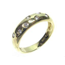 STAR JEWELRY スタージュエリー ダイヤモンドリング 指輪 リング ゴールド×クリアー K18YG(75