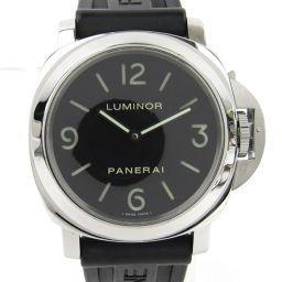 PANERAI パネライ ルミノールベース44 ウォッチ 腕時計 PAM00112 ブラック ステンレススチール(