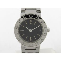 BVLGARI ブルガリ ブルガリ ブルガリ ウォッチ 腕時計 BB23SS シルバー ステンレススチール(SS)