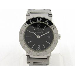 BVLGARI ブルガリ ブルガリ ブルガリ ウォッチ 腕時計 BB26SS シルバー ステンレススチール(SS)