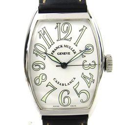 FRANCK MULLER フランク・ミュラー カサブランカ ウォッチ 腕時計 メンズ 5850 ホワイト ステン